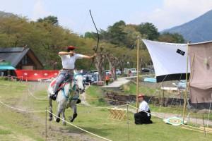 """やぶさめ祭り・ Yabusame Festival  """"Horseback Archery"""""""